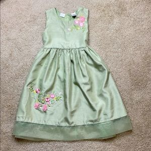 Perfectly Dressed Party Dress w Embroidery, NWT